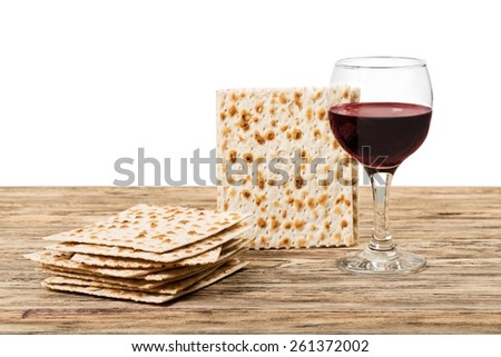 Background, bread, card. - stock photo
