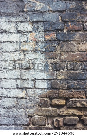 background, brick, brick wall, colored, gray, white, light, dark