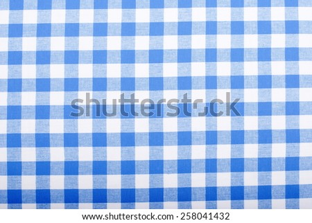 background checkered cloth kitchen towel - stock photo