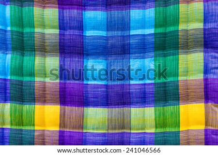Background Close up of beautiful blue-green corrugated sheets. - stock photo