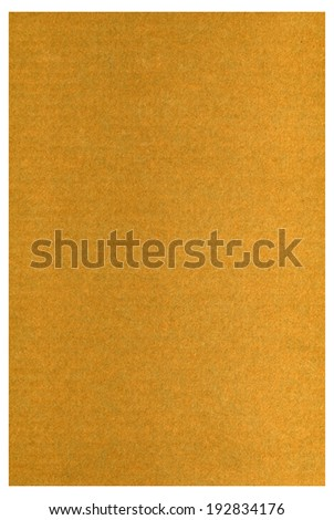 background  closeup of brown cardboard - stock photo