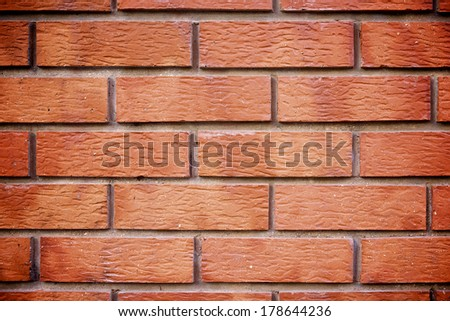 background created with a brick wall