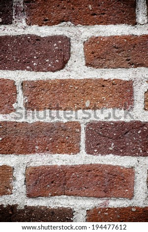 Background created with a old brick wall - stock photo