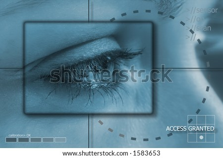 Background - Eyetech - stock photo