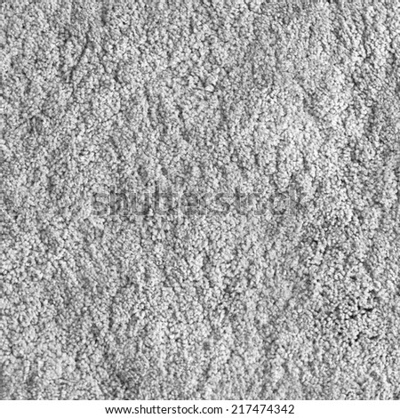 Background for creativity and design. A beige carpet texture. - stock photo