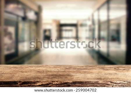 background for your advertise and dark brown desk space  - stock photo