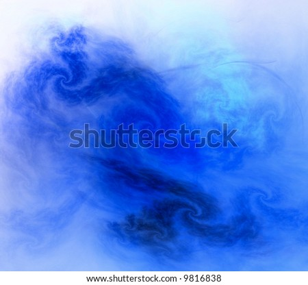 background fractal - stock photo