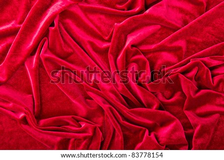 Background from a velvet fabric - stock photo
