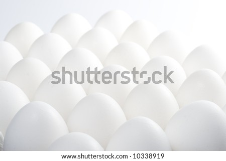 Background from fresh eggs.