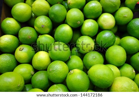 Background from fresh lime. Nature food