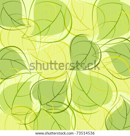 Background from  leaves - stock photo