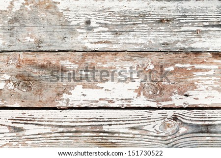 background from old shabby wooden boards - stock photo