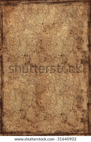 background from old tattered paper - stock photo