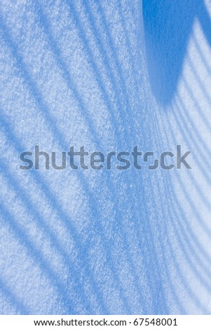 Background from snow shined with the sun. - stock photo