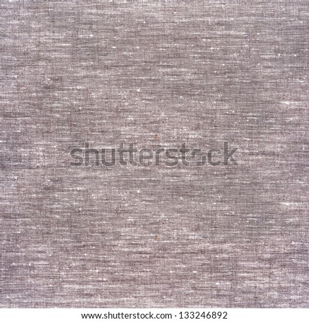 Background gray linen napkin - stock photo