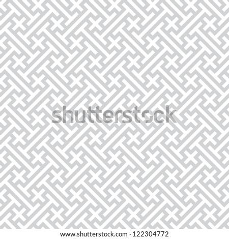 Background - gray seamless geometric pattern - stock photo