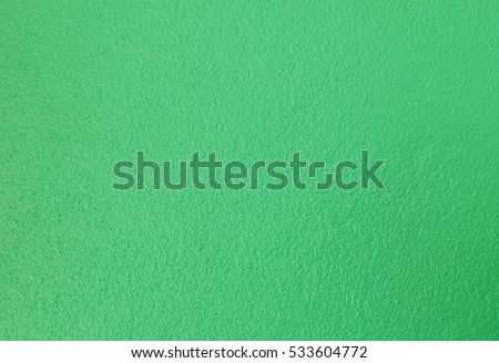Background green concrete wall