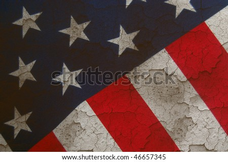 background grunge flag