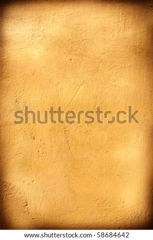 Background grungy light brown with frame and space for text. - stock photo
