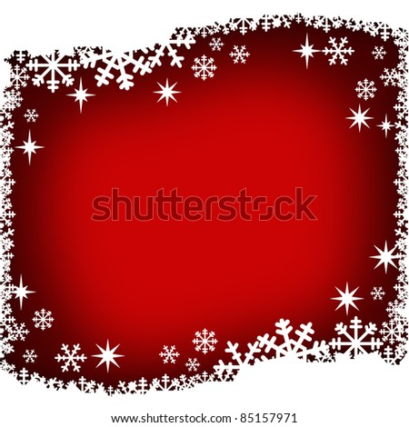background isolated with winter theme