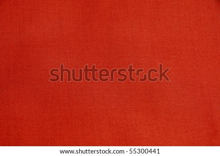 background made of a closeup of a red satin textile - stock photo