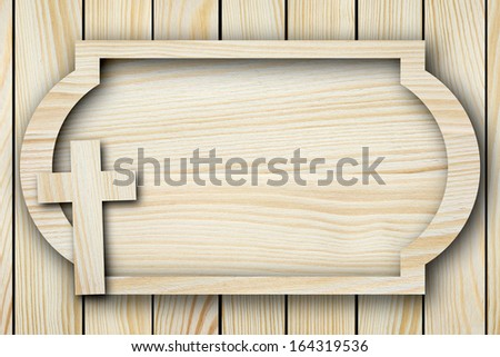 Background made of pine planks - stock photo