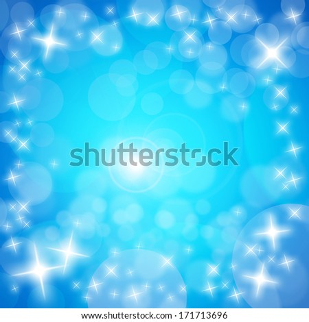 Background material sparkling