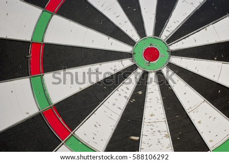 Background of a board for playing darts