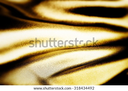 Background of a yellow blanket - stock photo