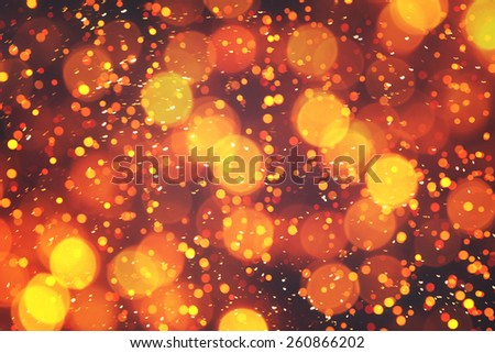 Background of abstract bokeh lights