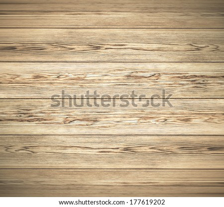 Background of an old natural wooden darken room with messy and grungy cracked tree floor of beech texture inside vintage neglected and deserted warm rural interior with wood, shadows, dingy, dim light - stock photo