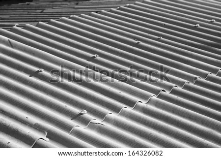 background of asbestos slate. texture