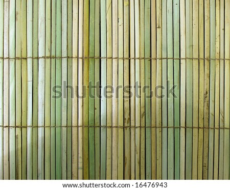Background of bamboo handmade nice Asian theme - stock photo