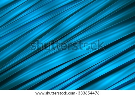 background of blue 3d abstract waves. render