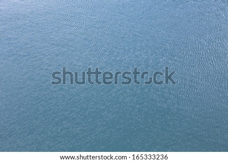 background of blue sea