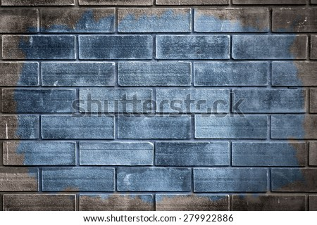 Background of brick wall texture, Vintage style