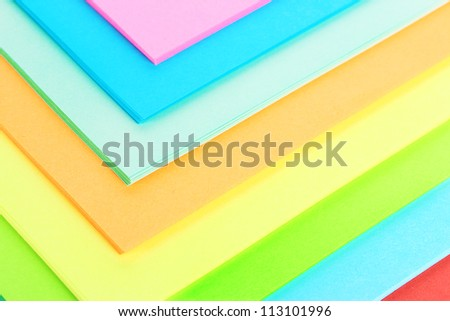 background of bright colorful paper - stock photo