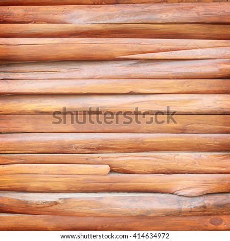 Background of brown old natural wood - stock photo