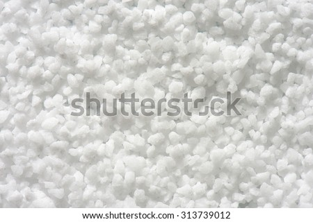 Background of coarse grained salt - stock photo