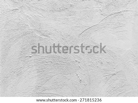 background of  concrete texture decorative surface on wall yellow color - stock photo