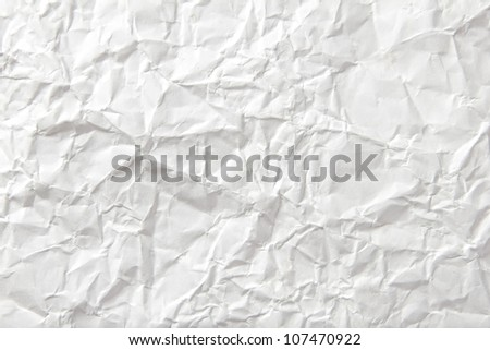 Background of crumpled paper - stock photo