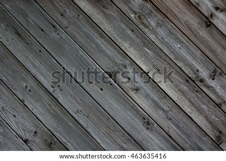 Background of diagonal wooden planks. Texture of wooden wall