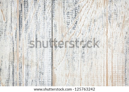 Background of distressed old painted wood texture - stock photo
