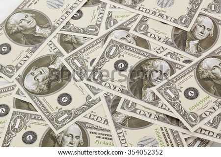 background of dollar banknotes