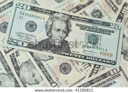 background of dollar bills