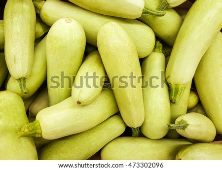 Background of fresh squash.