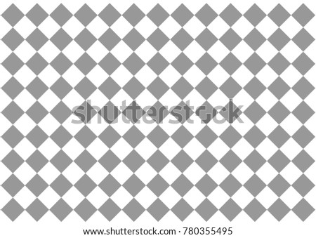 Background Gray Squares Diagonal Checkerboard Pattern Stock ...