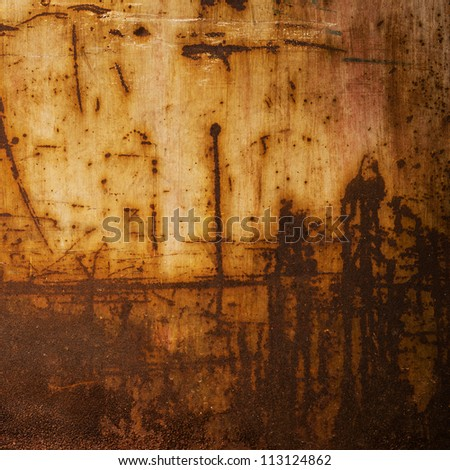 Background of grunge metal plate. - stock photo