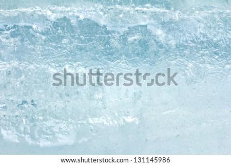 background of ice - stock photo