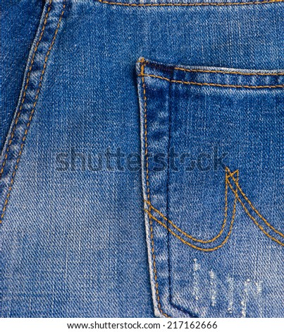Background of jeans texture - stock photo